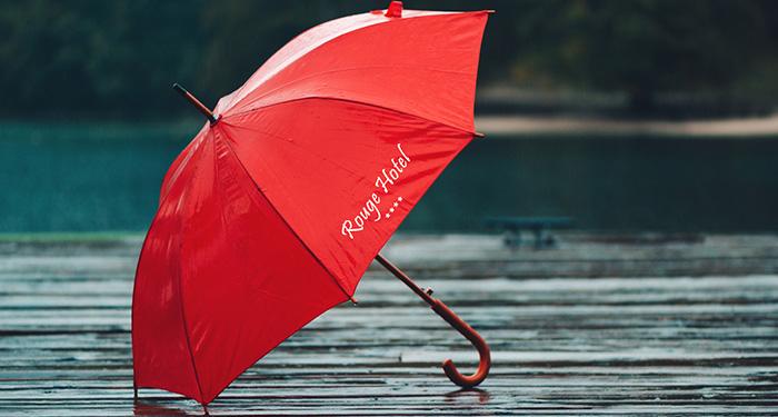 Articoli personalizzati ombrello con logo