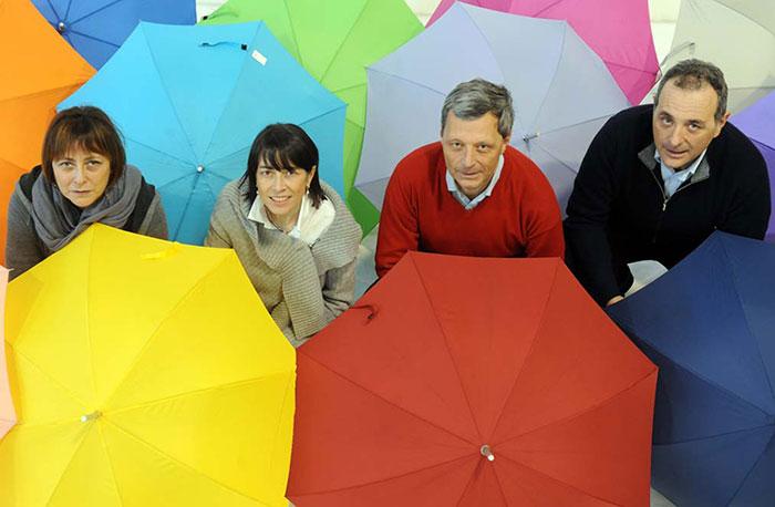 guidetti ombrelli famiglia